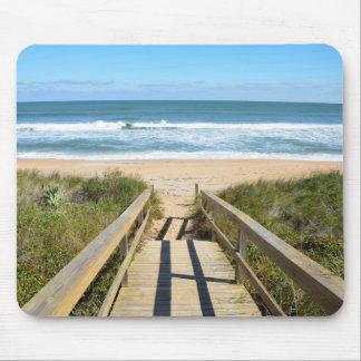 Walkway till stranden musmatta