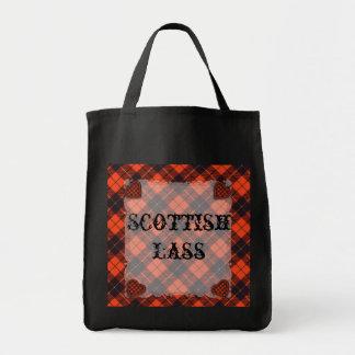 Wallace skotsk klantartan - pläd mat tygkasse