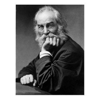 """Walt Whitman """"ansikte alltid in mot solskenet """", Vykort"""