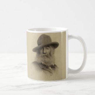 Walt Whitman den bra grå färgpoeten Kaffemugg