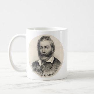 Walt Whitman gravyr, ålder 41 Kaffemugg