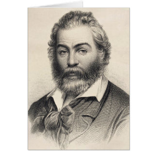 "Walt Whitman ""lycka i detta ställe, denna timme "", OBS Kort"