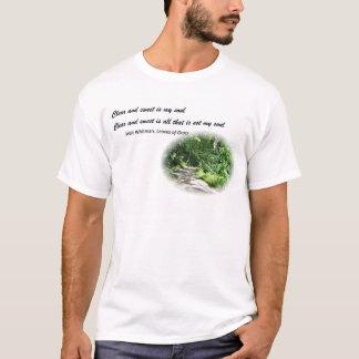 Walt Whitman poesi T Shirts