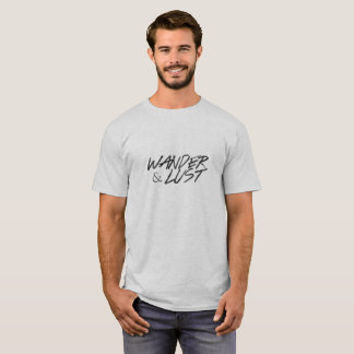 Wander&Lust T-tröja - svart Tee