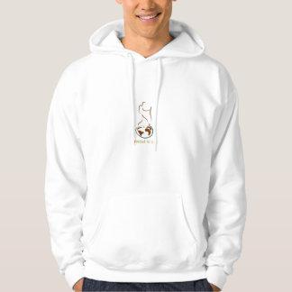 Wanderlust för livtröja sweatshirt med luva