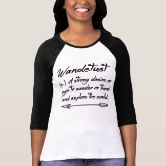Wanderlustvärld Tee Shirts