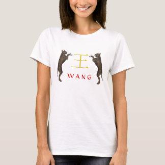 Wang Monogramhund Tee Shirt