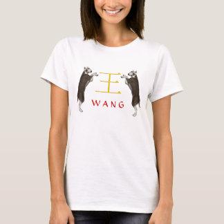 Wang Monogramhund Tröja