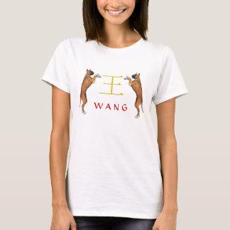 Wang Monogramhund Tröjor