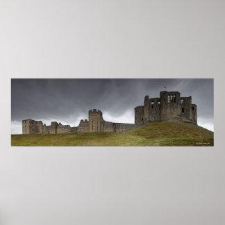 Warkworth slott poster