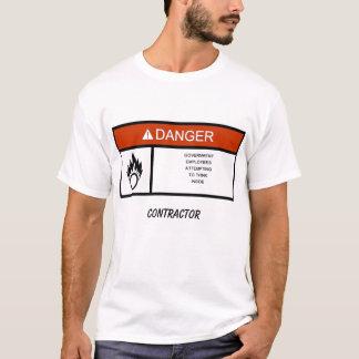 warninglabel LEVERANTÖR T-shirt