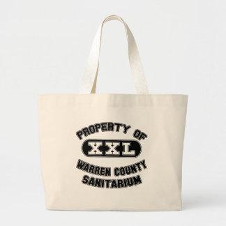 Warren County Sanitariumprodukter Jumbo Tygkasse