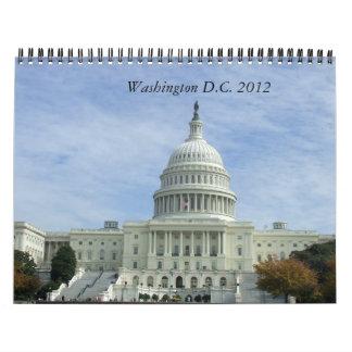 Washington DC 2012 reser kalendern Kalender