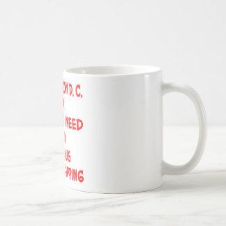Washington DC-behov som Satkäring-Smällas Kaffemugg