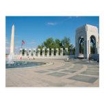 Washington DC, minnesmärke för medborgare WWII Vykort