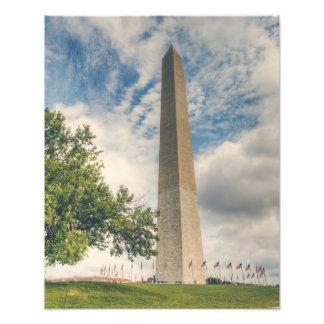 Washington monument fototryck