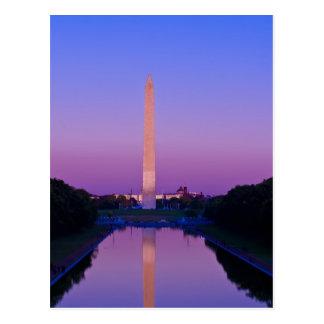 Washington monumentvykort vykort
