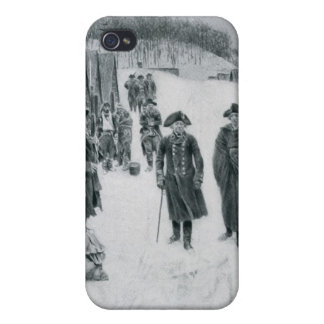 Washington och Steuben på dalsmedjan iPhone 4 Skal