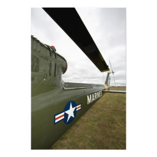 Washington Olympia, militär airshow. 2 Fototryck