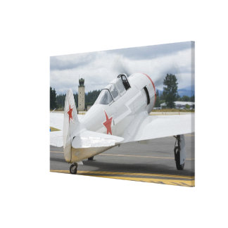 Washington Olympia, militär airshow. 3 Canvastryck