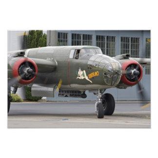 Washington Olympia militär airshow Fotografiskt Tryck