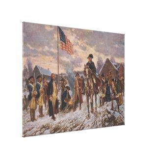 Washington på dalsmedjan av Edward Percy Moran Canvastryck