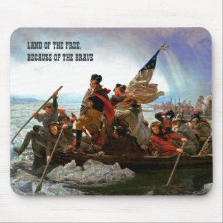 Washington som korsar den Delaware konsten Musmatta