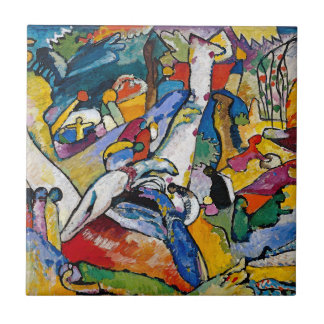 Wassily Kandinsky - abstrakt konst för Kakelplatta