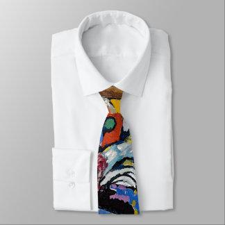 Wassily Kandinsky - abstrakt konst för Slips