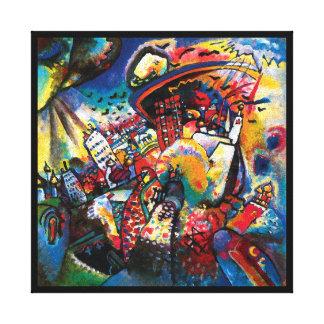 Wassily Kandinsky - konst för Moscow Canvastryck
