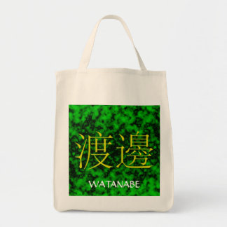 Watanabe Monogram Tygkasse