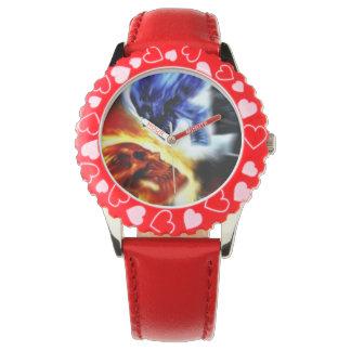 Watch. för 2 döskallar armbandsur