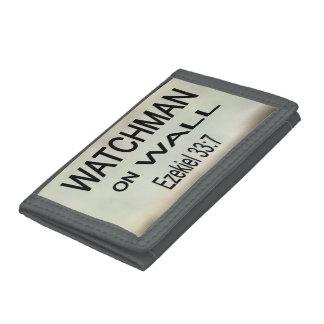 Watchman på väggplånboken