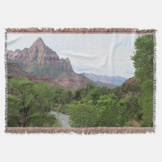 Watchman Zion nationalpark, Utah Mysfilt