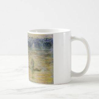 Waterloo överbryggar vid Claude Monet Kaffemugg