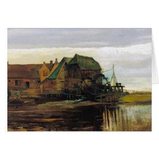 Watermill på Gennep av Vincent Van Gogh OBS Kort