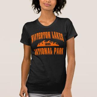 Waterton gammal stilsäkerhet tee shirts