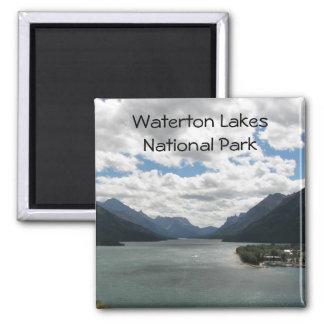 Waterton sjöar reser fotoet magnet
