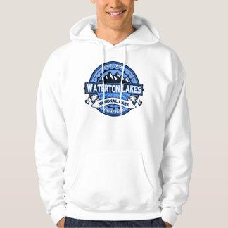 Waterton sjöarblått sweatshirt