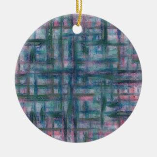 Watery drömmar julgransprydnad keramik