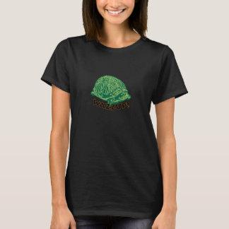 Wazzup - sköldpaddakvinna grundläggande T-tröja T Shirt