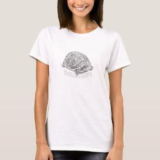 Wazzup - sköldpaddakvinna grundläggande T-tröja T-shirts
