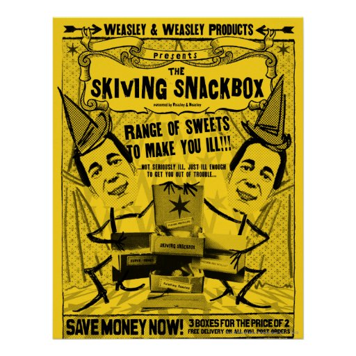 Weasley och weasleyprodukter posters