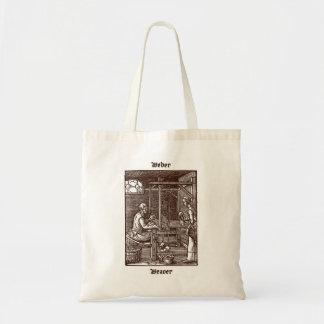 Weber - vävare - Das Ständebuch/bok av handel Tote Bag