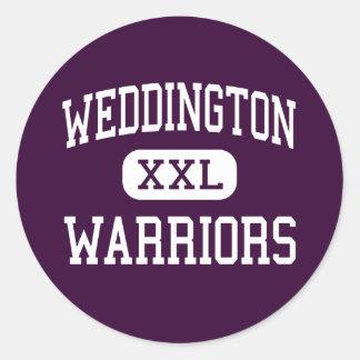 Weddington - krigare - kick - Matthews Runt Klistermärke