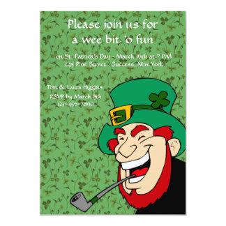 Wee bet 'Sts Patrick för nollan rolig inbjudan för