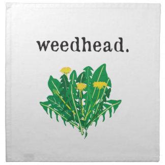 weedhead. (maskros) tygservett
