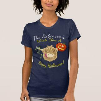 WeeHamish höglands- ko Halloween Tee