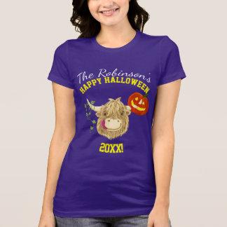 WeeHamish höglands- ko Halloween Tee Shirt