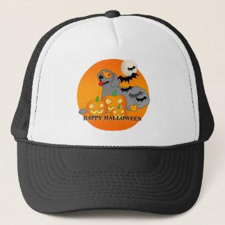 Weimaraner hund Halloween Truckerkeps